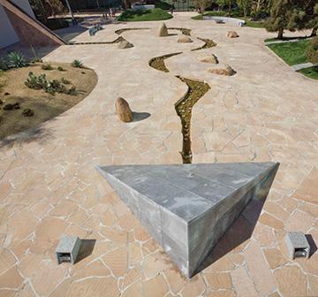 California Scenario designed by Isamu Noguchi