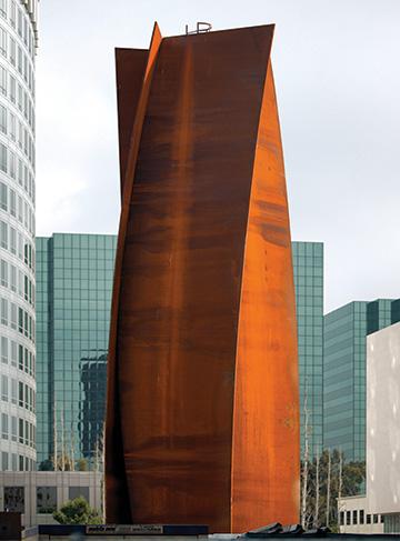 Connector by Richard Serra