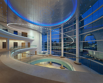 Segerstrom Center Loby