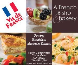 Vie de France banner ad